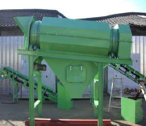 トロンメル分級機小径型